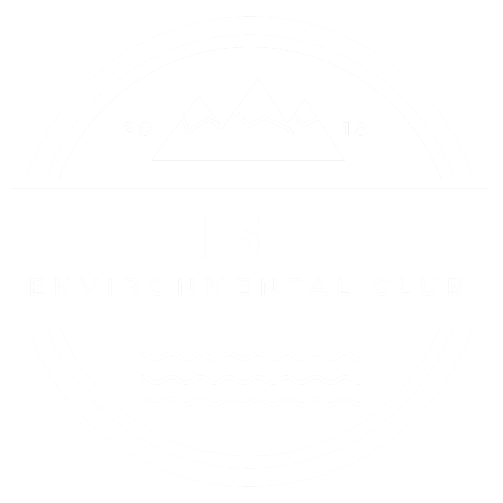 LOGO WHITE ESE ENVIRONMENTAL CLUB